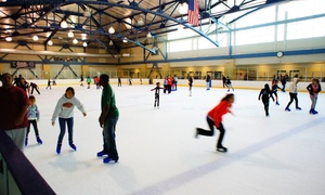 Kroc Center Ice: Ice-Skating with Skate Rentals for Two or Four at Kroc Center Ice (Up to Half Off)