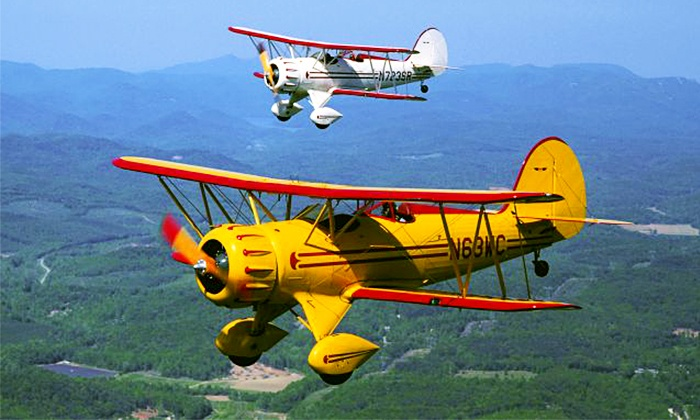 Acadia Air Tours - Bar Harbor Airport: $109 for BiplaneTour over Acadia National Park from Acadia Air Tours ($199 Value)