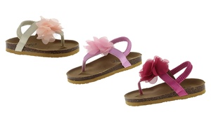 Shoes of Soul Toddler Girls' Thong Sandals