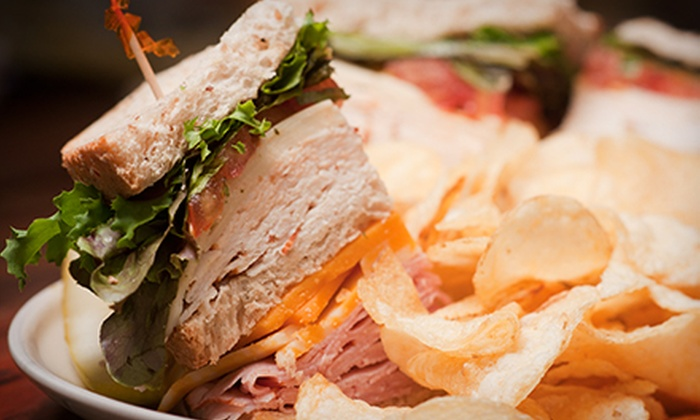 Board Game Island - Downtown Galveston: Sandwich Meal for Two, Four, or Six at Board Game Island (56% Off)