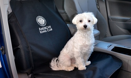 AKC Front Seat Car Seat Cover for Pets