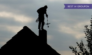 Extra Mile Home Improvement: Chimney-Sweeping Service or Flue Pipe Cleaning from Extra Mile Home Improvement  (45% Off)