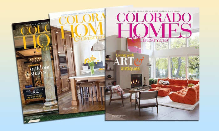 "Colorado Homes & Lifestyles: One- or Two-Year Subscription to ""Colorado Homes & Lifestyles"" (Up to 50% Off)"