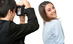 $18 For A Back-to-school Photo Shoot With Makeup And Hair Styling At London Reign ($340 Value)