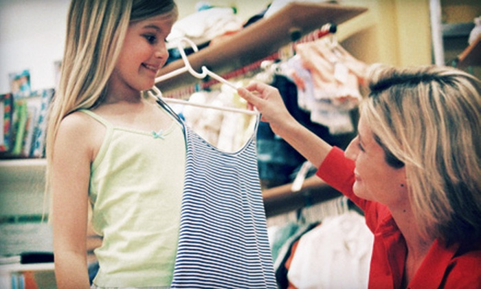 PAKT Closet - Walnut Grove - Shelby Farms PD: $10 for $20 Worth of Baby, Kids', and Maternity Consignment and Resale Apparel at PAKT Closet