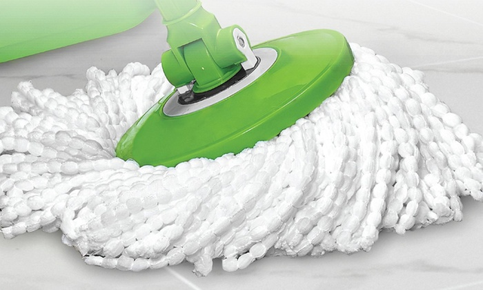 Spinning Action Mop Groupon Goods