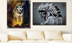 Native American Theme Gallery-Wrapped Canvas Prints (40