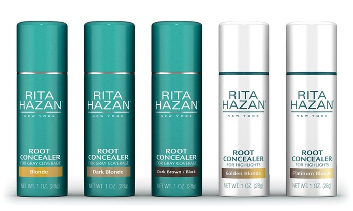 Rita Hazan Root Concealer for Gray Coverage or Highlights: $9.99 for Rita Hazan Root Concealer for Gray Coverage or Highlights; 1 Fl. Oz. ($20 List Price). Multiple Shades.