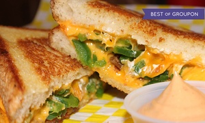 Cheesie's Pub & Grub : Grilled Cheese Meal and Beers for Two or Four at Cheesie's Pub & Grub (Up to 47% Off)