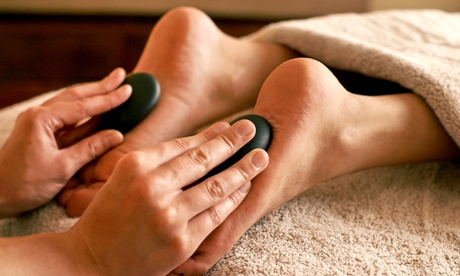 One or Three 1-Hour Reflexology Sessions with Hot Stones at Damien's Natural Healing (Up to 55% Off) 2e35f23c-ef10-48cc-84c7-ce901bd54957