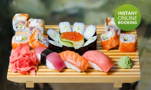 Midori Sushi: Sushi Starter Platter from R75 for Two at Midori Sushi (Up to 52% Off)