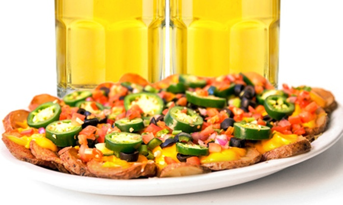 McGillycuddy's - Juneau Town: $11 for Irish Nachos and Two Beers at McGillycuddy's ($20 Value)