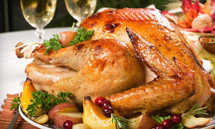 Pimento Jamaican Grille - Minneapolis / St Paul: $95 for a Thanksgiving Dinner for Up to Eight from Pimento Jamaican Grille ($190 Value). Five Delivery Times Available.