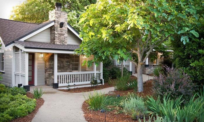 Olea Hotel - Glen Ellen, CA: One- or Two-Night Stay with a Bottle of Champagne at Olea Hotel in Sonoma Valley, CA