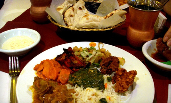 Peacock Gardens Restaurant - Pomona: Vegetarian or Nonvegetarian Indian Meal for Two or Four at Peacock Gardens Restaurant in Diamond Bar (Up to Half Off)