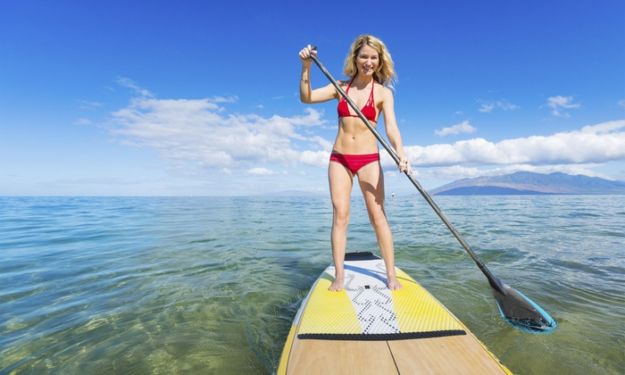 Eastern Watersports - Multiple Locations: Float Amid Views of Wildlife and Baltimore County's Nature with Paddleboarding at Eastern Watersports