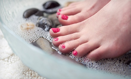 $20 for Glitter Pedicure at Artistic Illusions Salon ($40 Value)