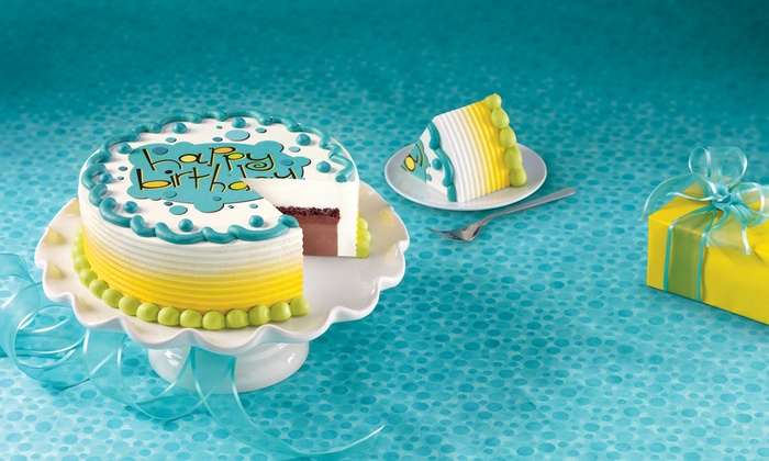 Dairy Queen/Orange Julius - Raytown: $12 for 8- or 10-Inch Ice Cream Cake from Dairy Queen/Orange Julius in Raytown (Up to $23.99 Value)