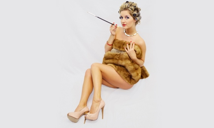 Carolina Pin-Up - Kernersville: $99 for a Photo-Shoot Package with Costumes and Prints at Carolina Pin-Up ($220 Value)