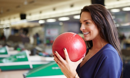 Two Games of Bowling for 2, 4, or 6 with Shoe Rental and Small Soft Drink at Port Jeff Bowl (Up to 58% Off)