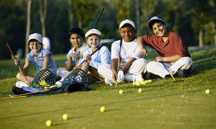 Mr. Peter's Golf Camp at San Bruno Golf Center - San Bruno: One or Two Two-Hour Kids' Golf Camp Lessons with Mr. Peter's Golf Camp at San Bruno Golf Center (Up to 62% Off)
