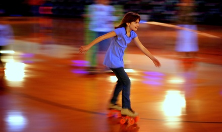 Skating, Laser Tag, and Slushies Four at Roller Kingdom (Up to 66% Off)