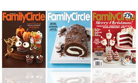 2-Year, 24-Issue Print or Digital Subscription to Family Circle