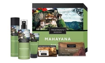 Entree bij een sauna naar keuze en een wellnessgiftbox met verzorgingsproducten van TREATMENTS bij je thuisbezorgd