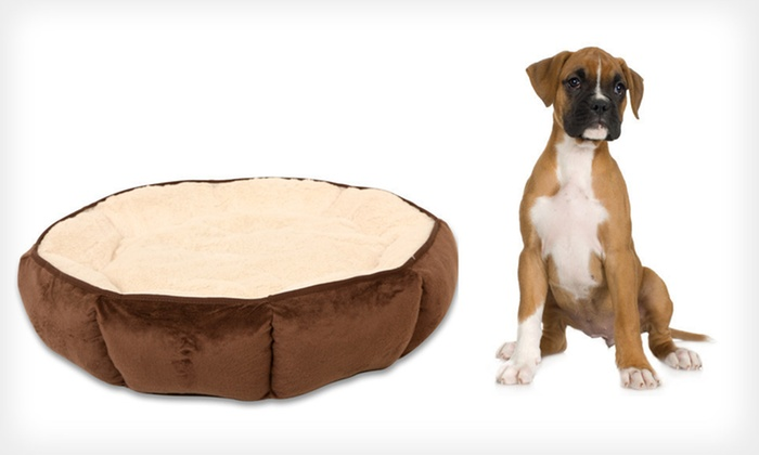 Pioneer Pet Beds: Pioneer Boxed, Gusset, or Puffy Round Pet Beds (Up to 63% Off). Free Shipping.