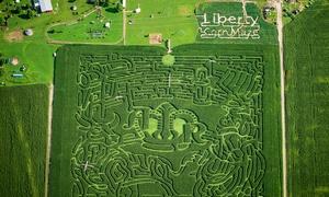Liberty Corn Maze: $16 for a Full-Season Corn-Maze Pass at Liberty Corn Maze ($30 Value)