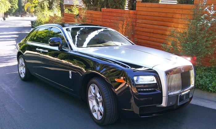 Ocean Drive Exotic Car Service - Golden Shores Ocean Blvd Estates: $325 for 90-Minute Rolls-Royce South Beach Tour from Ocean Drive Exotic Car Service ($650 Value)