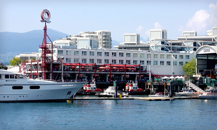 Lonsdale Quay Hotel - North Vancouver: One-Night Stay with Breakfast and Optional Snacks and Beverages at Lonsdale Quay Hotel in North Vancouver, BC