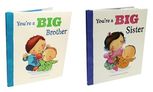 """""""You're a Big Brother"""" or """"You're a Big Sister"""" Children's Book"""