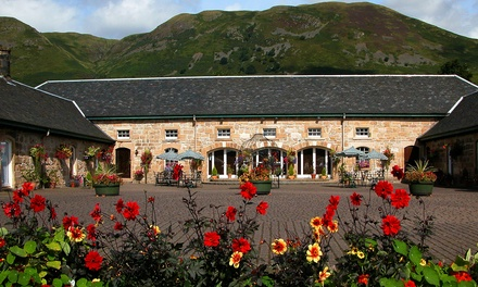 Two-Course Lunch or Dinner for Two or Four at The Harviestoun Country Hotel (Up to 44% Off)