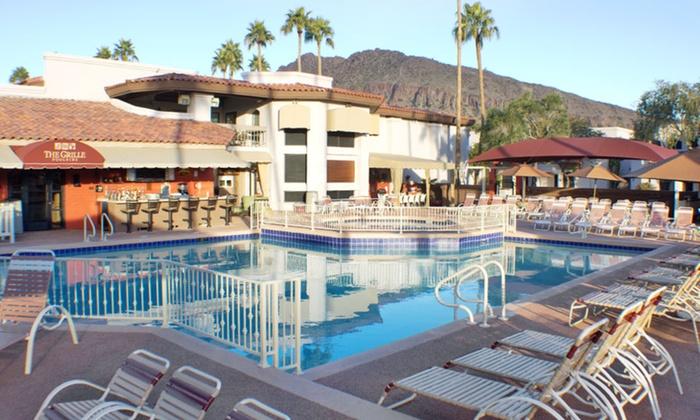 Scottsdale Camelback Resort - Scottsdale, Arizona: 1-Night Stay for Up to Six at Scottsdale Camelback Resort in Scottsdale, AZ. Combine Up to 3 Nights.
