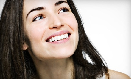 $125 for Exam with Cleaning, Oral-Cancer Screening, and Zoom! Whitening Treatment at Dental Images of OKC ($754 Value)
