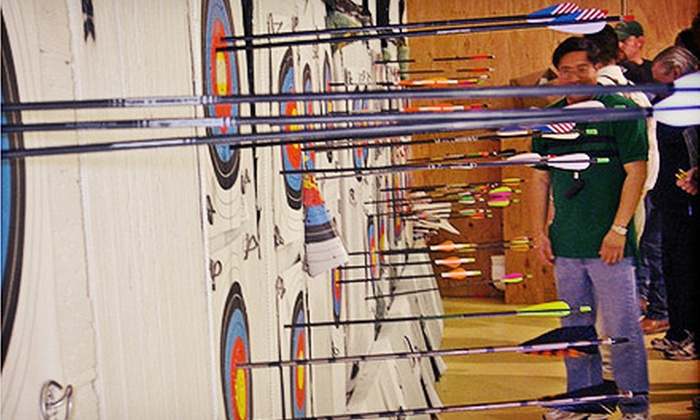 Pacifica Archery - Original Daly City: $40 for a One-Hour Archery Lesson and Shooting Session for Two at Pacifica Archery ($80 Value)