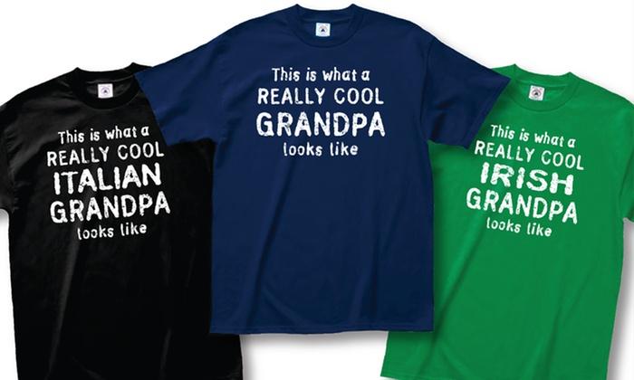 Men's Really Cool Grandpa T-Shirts