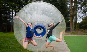 ZORB Rotorua: Zorb Wet Ride - One ($29) or Two Rides ($55) at ZORB Rotorua (Up to $90 Value)