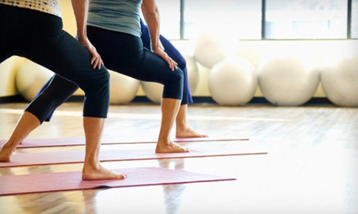 Daniela's Hot Yoga - Douglaston: Three or Six Hot-Yoga Barre Classes at Daniela's Hot Yoga (Up to 60% Off)