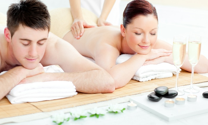 Heaven Spa - Philadelphia: Couples Massage with Champagne or Wine or Swedish Massage for One at Heaven Spa (Up to 34% Off)