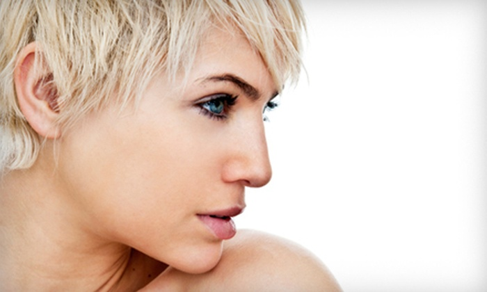 Kristi Georges at Head Over Heels Salon - Head Over Heels: Haircut and Style with Option of Full or Partial Highlights from Kristi Georges at Head Over Heels Salon (Up to 55% Off)
