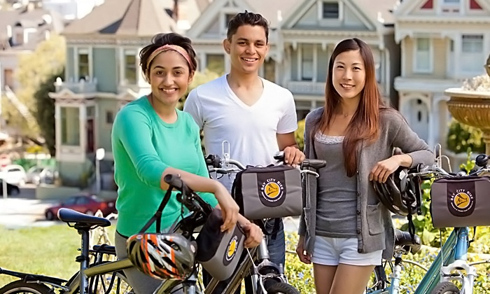 Bay City Bike - Multiple Locations: Hybrid Bike Rental for One, Two, Three, Four, or Five from Bay City Bike (Up to 47% Off)