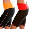 Lyss Loo Women's Fold-Over-Waist Shorts