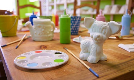 Plaster Painting for Two of Four at Paint N Plaster (Up to 45% Off)