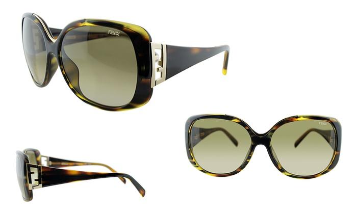 81b7a4ad11c3 Fendi Statement Sunglasses