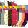 Mamia Women's Patterned Knee-High Socks (6-Pair)