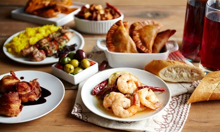 Six Tapas to Share for Two or 12 for Four at Cubanos