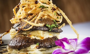 Pavilion Restaurant: Gourmet International Cuisine at Pavilion Restaurant Northbrook (Up to 43% Off). Two Options Available.
