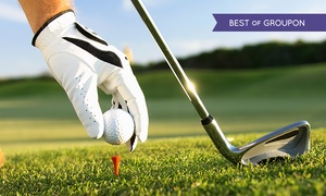 Huntswood Golf: Round of Golf Plus Bacon Roll and Hot Drink For Two or Four at Huntswood Golf Club (51% Off)
